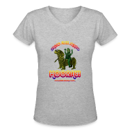 Women's T-Shirts ~ Women's V-Neck T-Shirt ~ Hooray! (V-Neck T-Shirt)