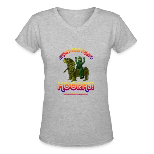 Hooray! (V-Neck T-Shirt) - Women's V-Neck T-Shirt