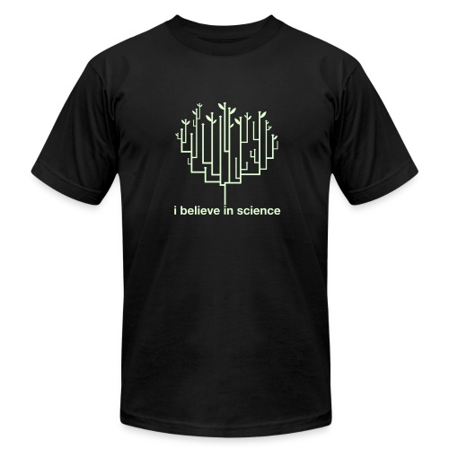 Tree of Life: Glow in the Dark special edition! - Men's Fine Jersey T-Shirt