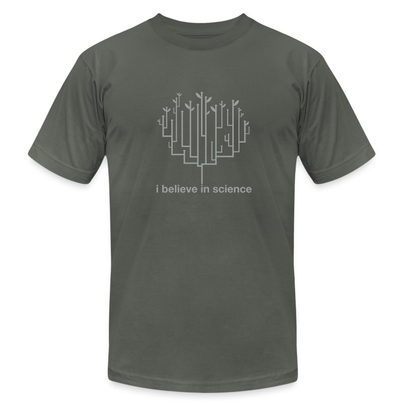 Tree of Life: Grey on Grey special edition! - Men's Fine Jersey T-Shirt