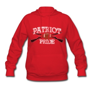 Patriot Pride Women's Hooded Sweatshirt - Women's Hoodie