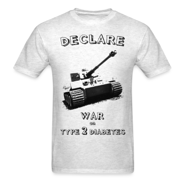 Declare War on Type 1 Diabetes!