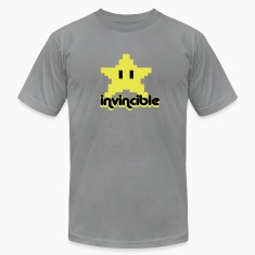 """invincible"" t-shirt"