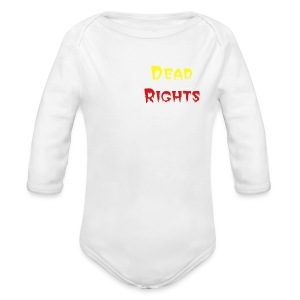 Dead Rights Fan Club - Long Sleeve Baby Bodysuit
