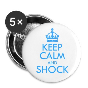 [B2ST] Keep Calm & Shock - Large Buttons