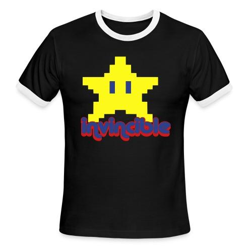 'invincible' ringer - Men's Ringer T-Shirt