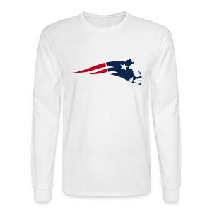 Mass Pats Men's Long Sleeve Tee - Men's Long Sleeve T-Shirt