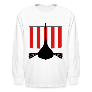 Viking Ship Kids' Shirts