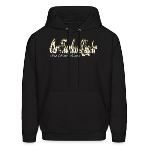 Our Fearless Leader No More Heroes Hoodie Gold - Men's Hoodie