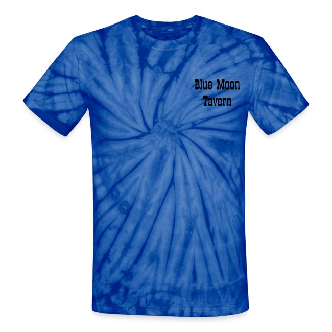 Blue Moon Tavern - Staff - Unisex Tie Dye T-Shirt