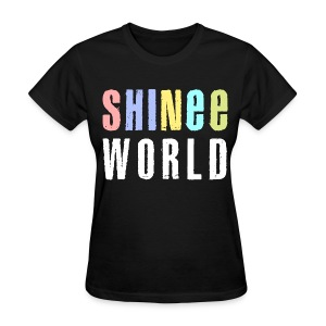[SHINee] SHINee World Concert - Women's T-Shirt