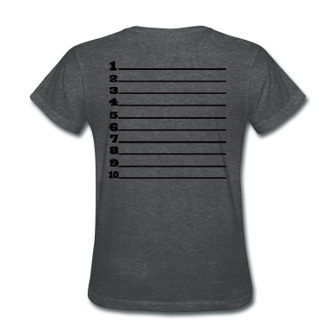 Length Check Loose Fit T