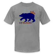 T-Shirts ~ Men's T-Shirt by American Apparel ~ Ass Crown Men's American Apparel Tee