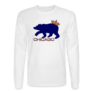 Ass Crown Men's Long Sleeve Tee - Men's Long Sleeve T-Shirt