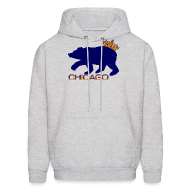 Hoodies ~ Men's Hoodie ~ Ass Crown Men's Hooded Sweatshirt