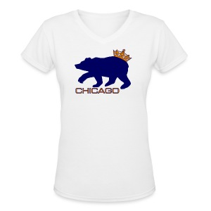 Ass Crown Women's V-Neck T-Shirt - Women's V-Neck T-Shirt