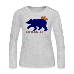 Ass Crown Women's Long Sleeve Jersey Tee - Women's Long Sleeve Jersey T-Shirt
