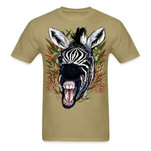 The Laughing Zebra - Men's T-Shirt