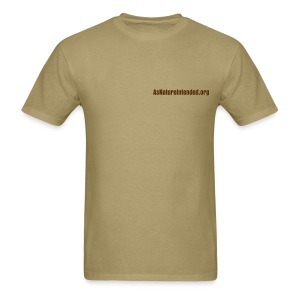 As Nature Intended [2 Sided] - Men's T-Shirt
