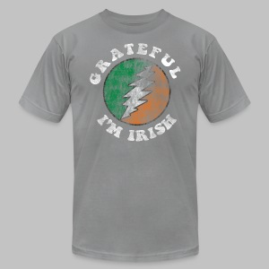 Grateful Irish Men's American Apparel Tee - Men's T-Shirt by American Apparel