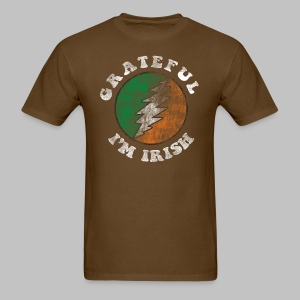 Grateful Irish Men's Standard Weight T-Shirt - Men's T-Shirt