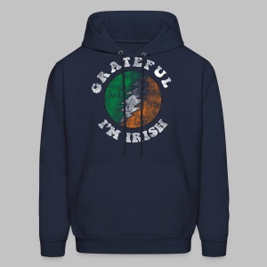 Grateful Irish Men's Hooded Sweatshirt - Men's Hoodie
