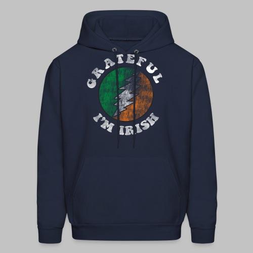 Grateful Irish Men's Hooded Sweatshirt - Men's Hoodie