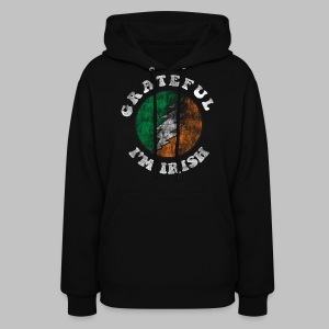 Grateful Irish Women's Hooded Sweatshirt - Women's Hoodie
