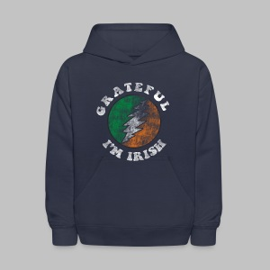 Grateful Irish Kid's Hooded Sweatshirt - Kids' Hoodie