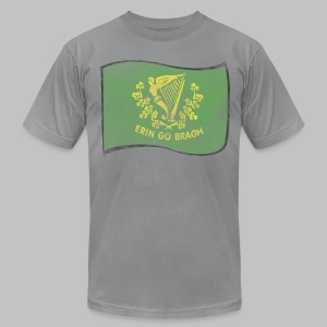 Erin Go Bragh Distressed Men's American Apparel Tee - Men's T-Shirt by American Apparel