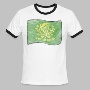 Erin Go Bragh Distressed Men's Lightweight Ringer Tee - Men's Ringer T-Shirt