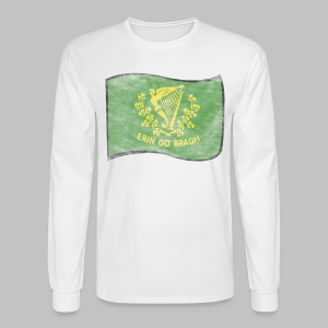 Erin Go Bragh Distressed Men's Long Sleeve T-Shirt - Men's Long Sleeve T-Shirt