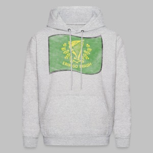 Erin Go Bragh Distressed Men's Hooded Sweatshirt - Men's Hoodie