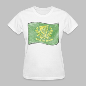 Erin Go Bragh Distressed Women's Standard Weight T-Shirt - Women's T-Shirt