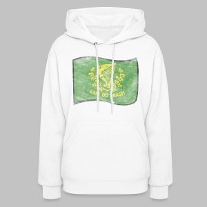 Erin Go Bragh Distressed Women's Hooded Sweatshirt - Women's Hoodie