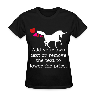 unicornfartinghearts Women's T-Shirts