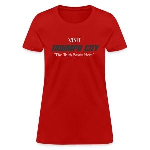 Triumph City Women's Standardweight T white print - Women's T-Shirt