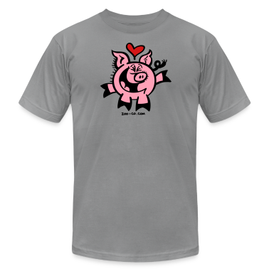 Head over Heels in Love Pig T-Shirts