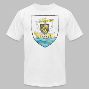 Galway Crest Men's American Apparel Tee - Men's T-Shirt by American Apparel