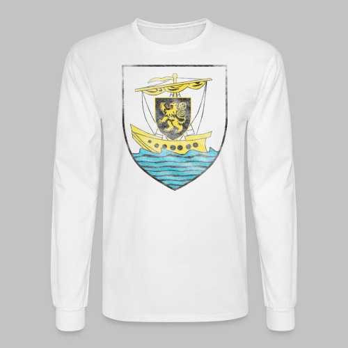 Galway Crest Men's Long Sleeve Tee - Men's Long Sleeve T-Shirt