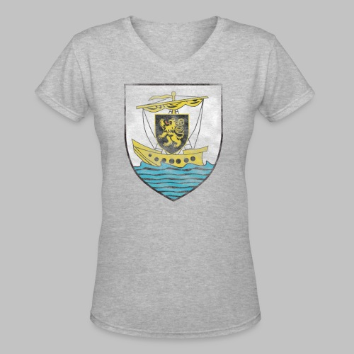 Galway Crest Women's V-Neck T-Shirt - Women's V-Neck T-Shirt
