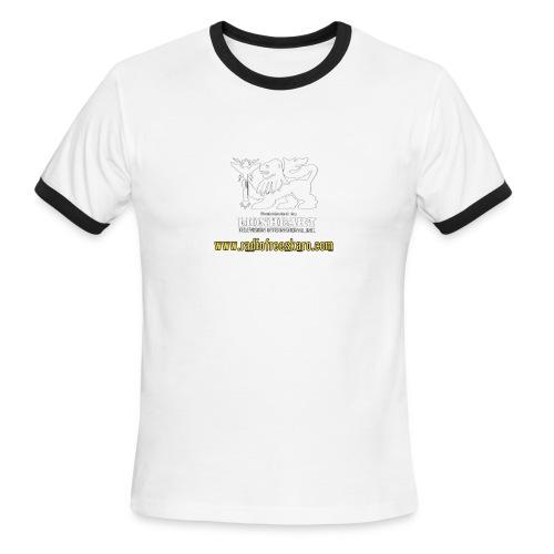 Lionheart (Ringer Tee) - Men's Ringer T-Shirt