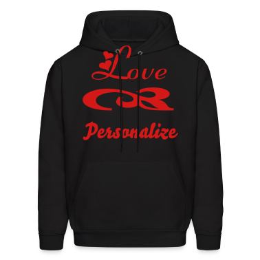 love with hearts for valentines Hoodies
