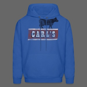 Carl's Chop House Men's Hooded Sweatshirt - Men's Hoodie