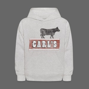 Carl's Chop House Kid's Hooded Sweatshirt - Kids' Hoodie