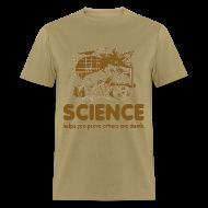 T-Shirts ~ Men's T-Shirt ~ Science Retro T-Shirt