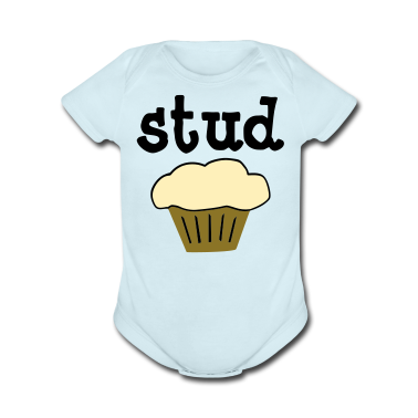 Stud Muffin Cute Baby One-Piece Funny T-Shirt