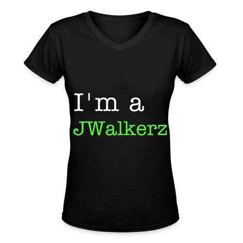 Jaywalkerz - Women's V-Neck T-Shirt