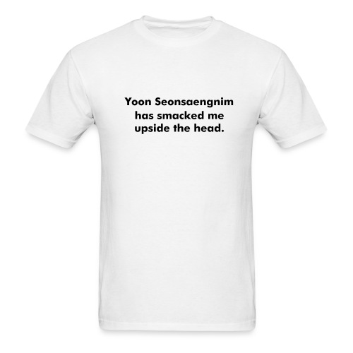 *NEW* Yoon Seonsaengnim... - Fully Customizable! - Men's T-Shirt
