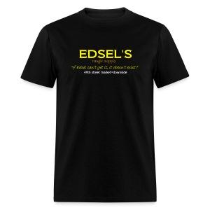 Edsel's Men's Standard weight T yellow print - Men's T-Shirt